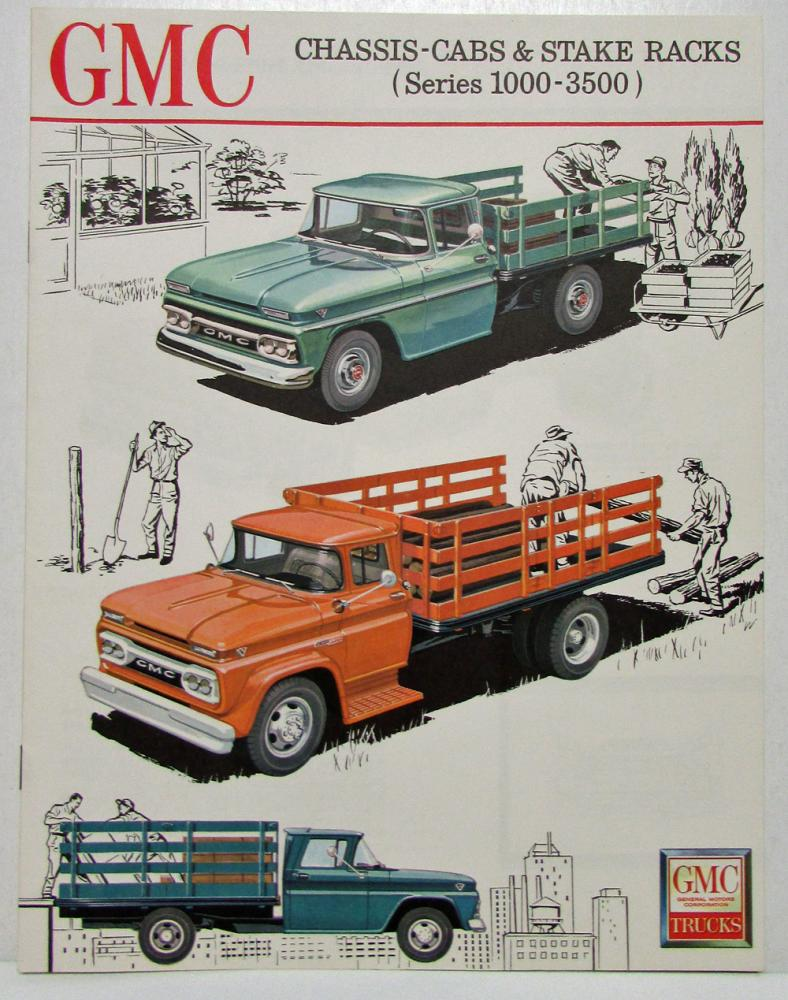 hight resolution of 1964 gmc 5000 b5000 l5000 h5000 bh5000 lh5000 trucks and tractors sales brochure