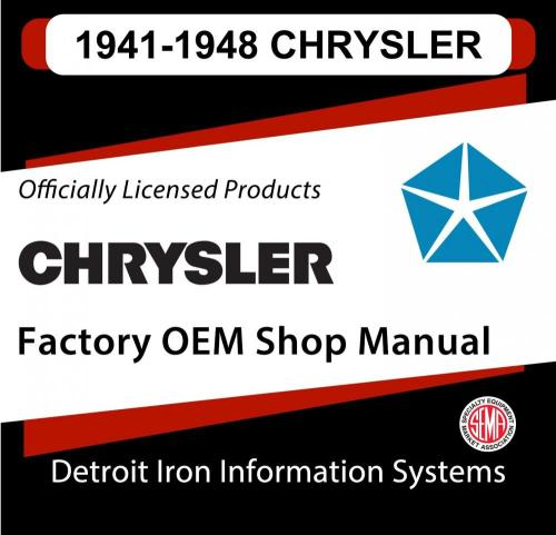 small resolution of 1941 1942 1946 1947 1948 chrysler imperial shop manual and sales brochure cd