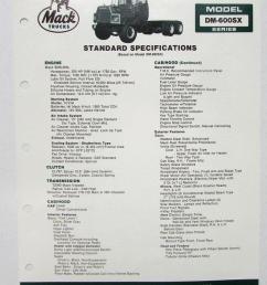 radiator 1995 mack rd690 [ 791 x 1000 Pixel ]