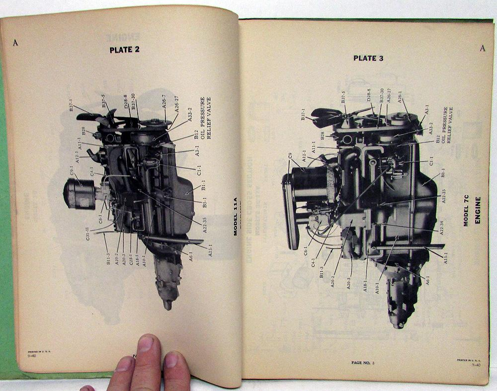 hight resolution of 1941 studebaker dealer master chassis parts catalog book sixes eights original