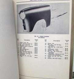 1952 53 willys dealer parts list book passenger car 475a 675 675a 685 685a [ 820 x 1000 Pixel ]
