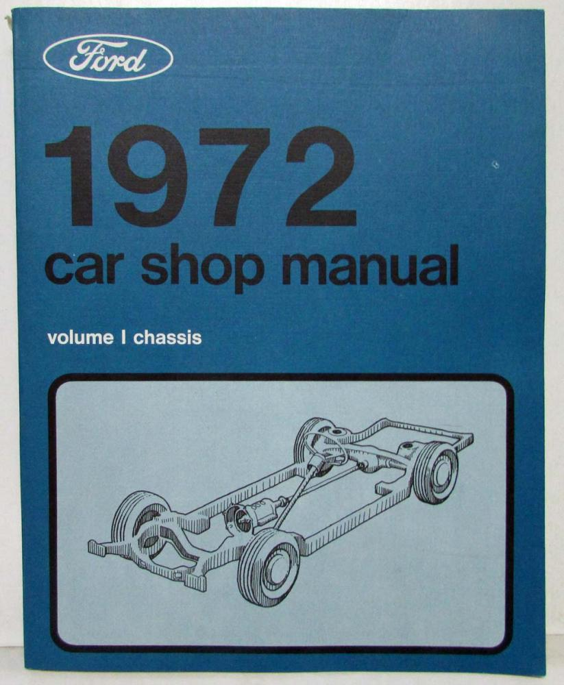 hight resolution of 1972 nos ford lincoln mercury service shop manual mustang cougar mark iv t bird