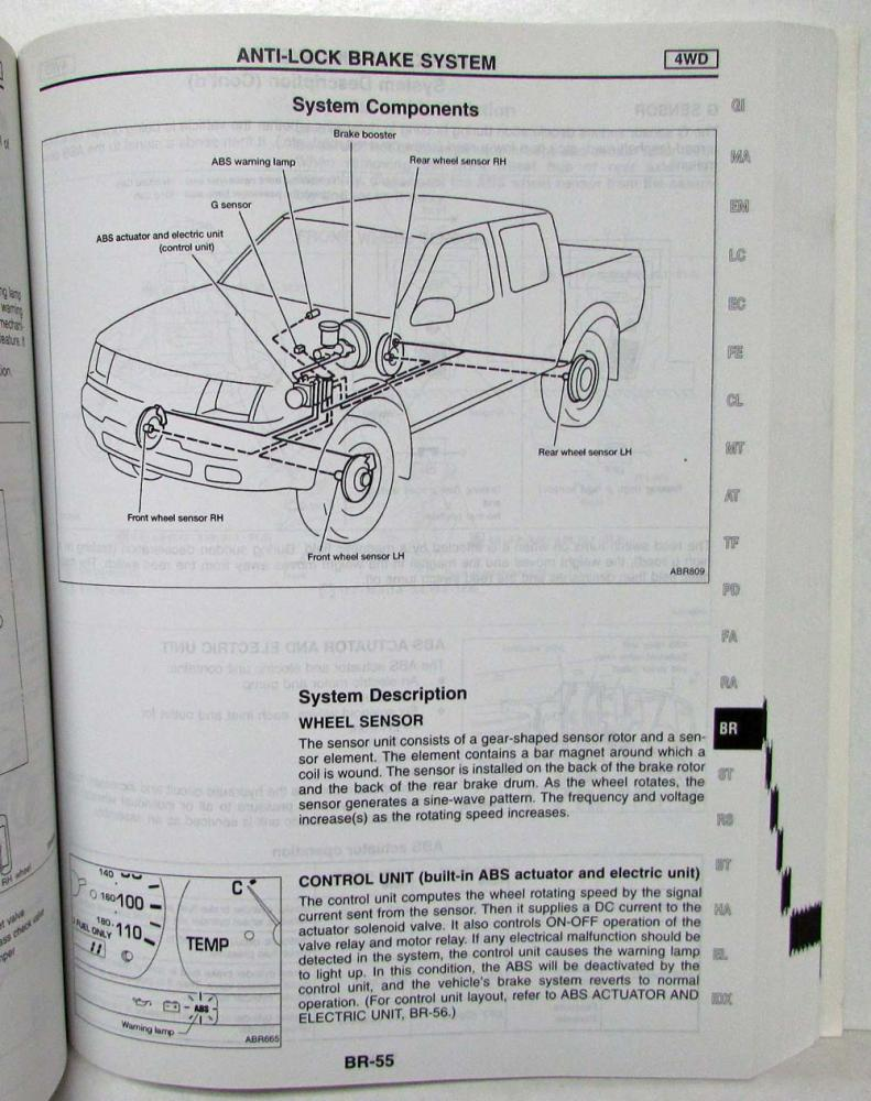 medium resolution of 1999 nissan frontier with 2 4l ka engine service shop manual model d22 series