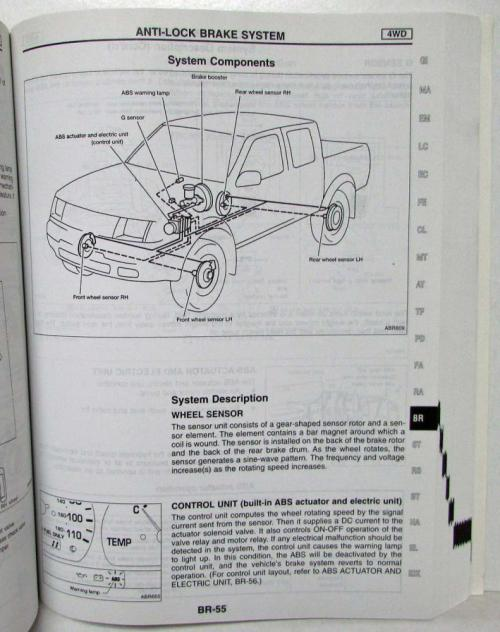 small resolution of 1999 nissan frontier with 2 4l ka engine service shop manual model d22 series