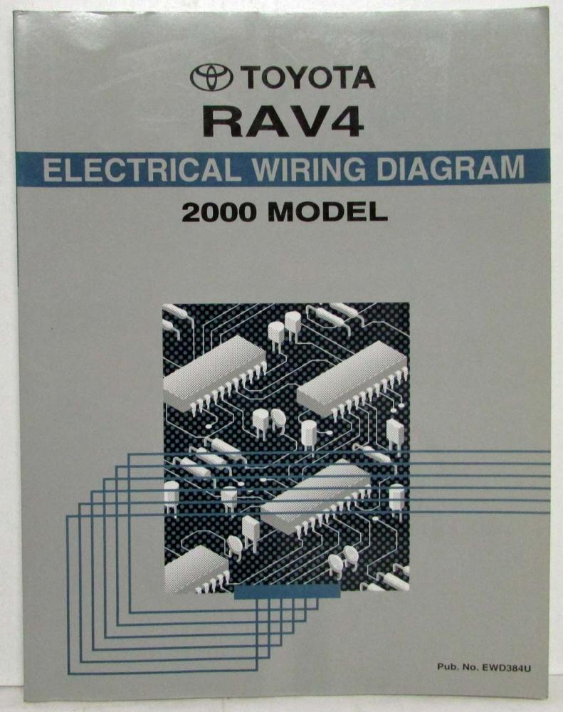 hight resolution of 1999 toyota rav4 oem repair manual rm668u