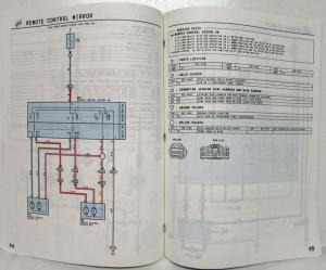1997 Toyota Previa Electrical Wiring Diagram Manual US