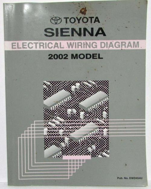 small resolution of 2004 toyotum sienna electrical wiring diagram