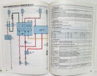 2003 Toyota MR2 Electrical Wiring Diagram Manual