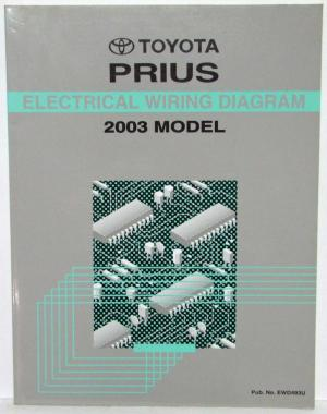 2003 Toyota Prius Electrical Wiring Diagram Manual