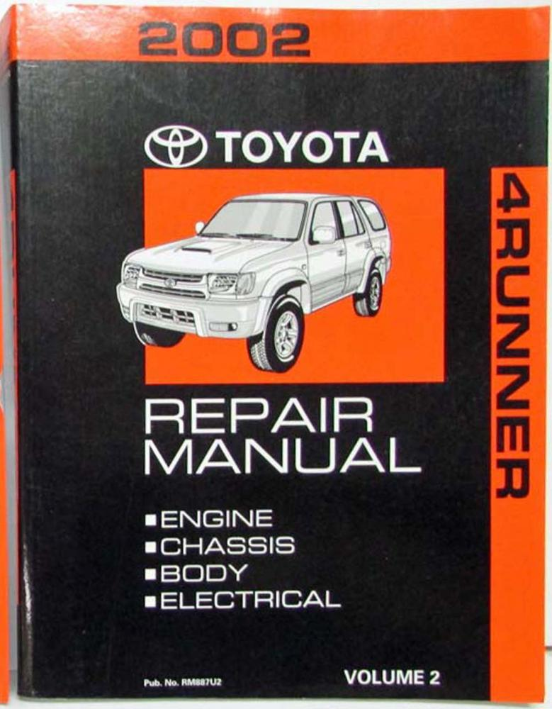 2002 Toyota 4runner Repair Guides