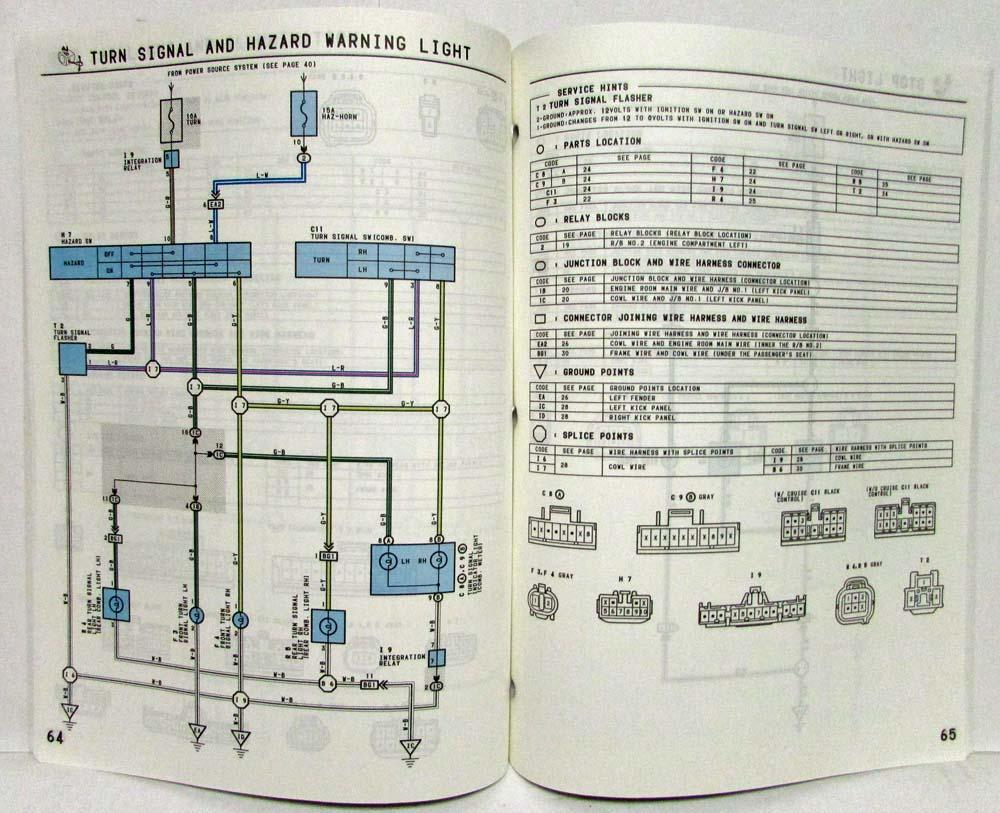 hight resolution of 1994 toyota t100 electrical wiring diagram manual model supplementtoyota t100 wiring diagram 9