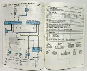 1994 Toyota T100 Electrical Wiring Diagram Manual Model