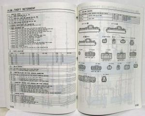 1995 Toyota Paseo Electrical Wiring Diagram Manual US & Canada