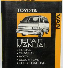 1989 toyota van service shop repair manual plus electrical wiring diagram [ 796 x 1000 Pixel ]