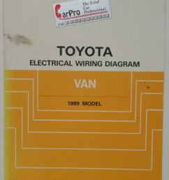 1989 toyota van service shop repair manual plus electrical wiring diagram [ 787 x 1000 Pixel ]