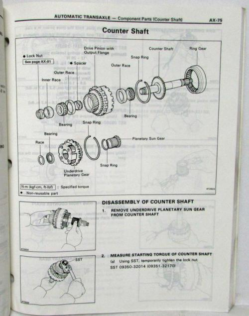 small resolution of 1992 toyota automatic transmission service repair manual a240l a241e a241h a243l