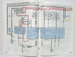 1993 Toyota Corolla Electrical Wiring Diagram Manual US