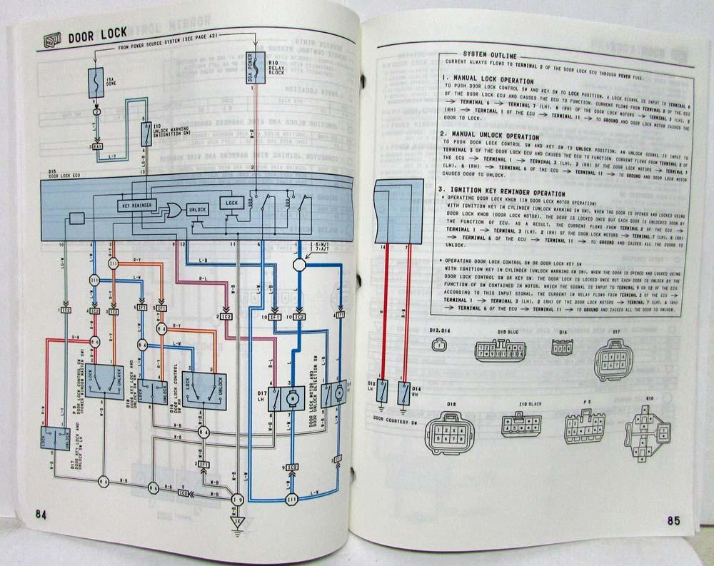 Toyotum T100 Wiring Diagram - on