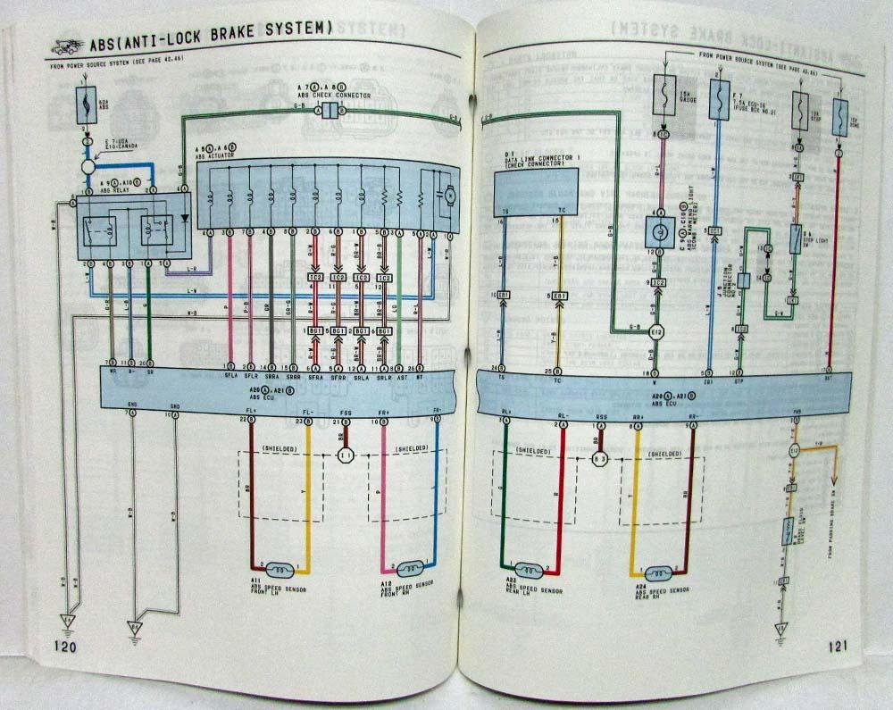 medium resolution of 1993 toyota paseo electrical wiring diagram manual us canada 1992 toyota paseo wiring diagram