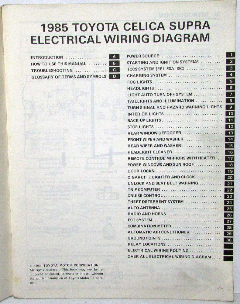 hight resolution of 1985 toyotum supra wiring diagram