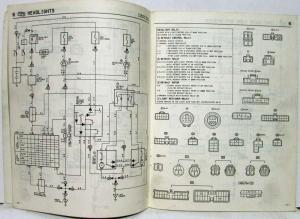 1986 Toyota Celica Supra Electrical Wiring Diagram Manual