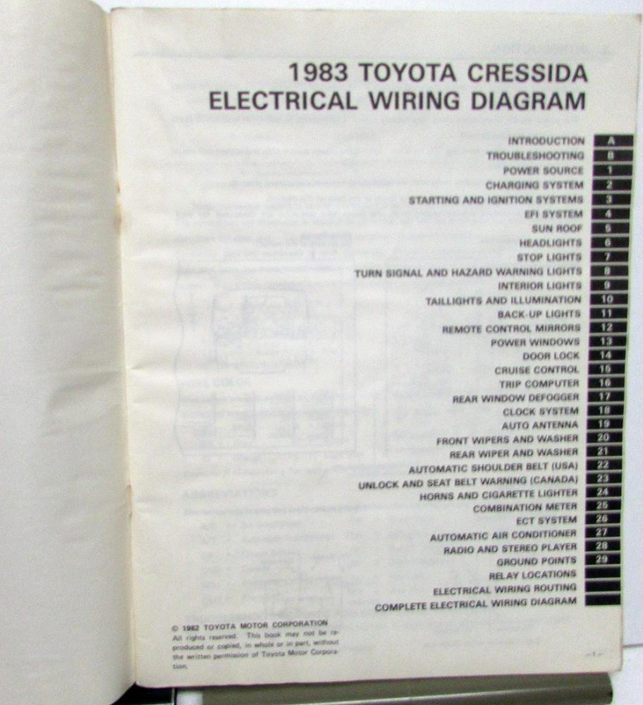 medium resolution of 1991 toyotum cressida wiring diagram