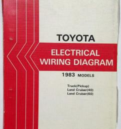 1983 toyota truck and land cruiser electrical wiring diagram manual us canada [ 821 x 1000 Pixel ]