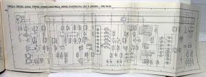 1982 Toyota Models Electrical Wiring Diagram Manual US