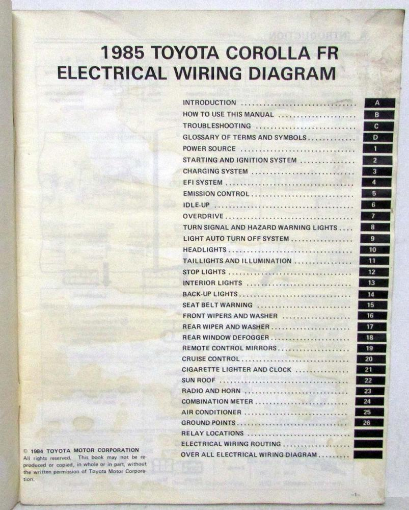 medium resolution of 1985 toyotum wiring diagram