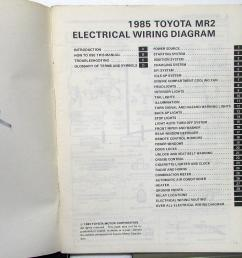 1985 toyota mr2 service shop repair manual electrical wiring diagram us ca [ 1000 x 985 Pixel ]