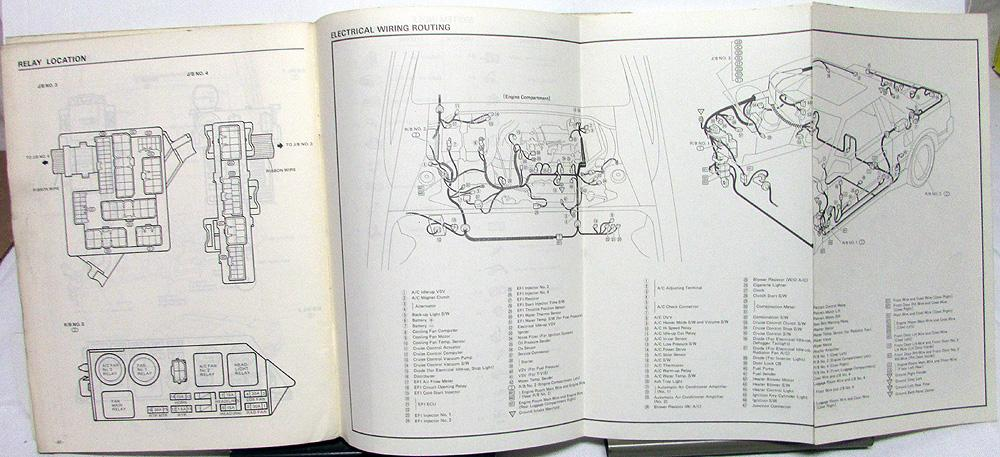 1985 toyota mr2 wiring diagram harley davidson diagrams and schematics service shop repair manual electrical us ca