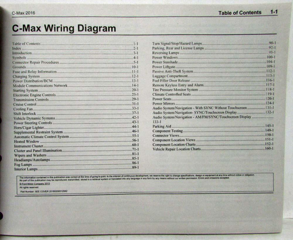 hight resolution of 2016 ford c max hybrid energi electric electrical wiring diagrams manualc max wiring diagram 12