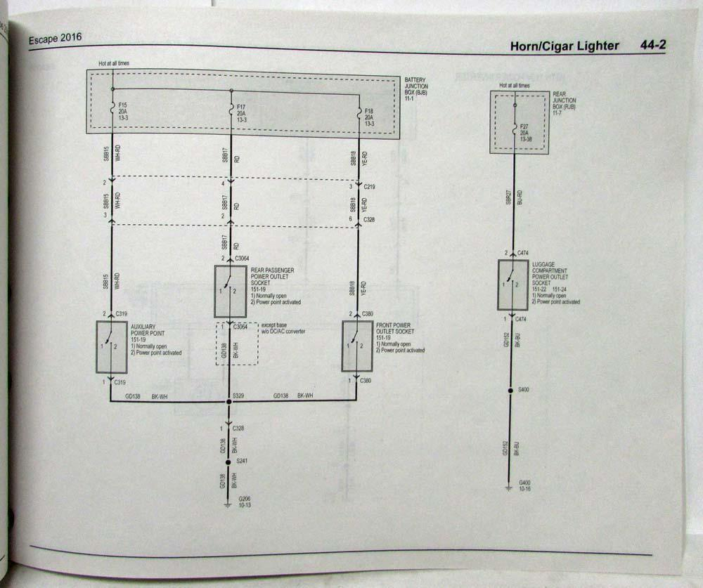 medium resolution of wiring ford diagramsescape