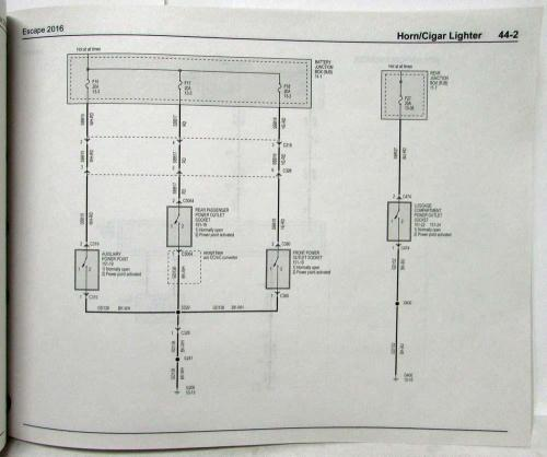 small resolution of wiring ford diagramsescape