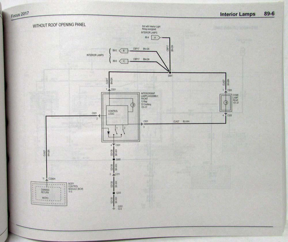 medium resolution of 2017 ford focus st electrical wiring diagrams manual