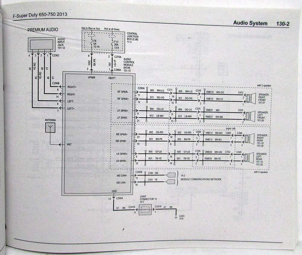 hight resolution of 2013 2014 ford f 650 750 super duty trucks electrical wiring 2014 f650 wiring diagram