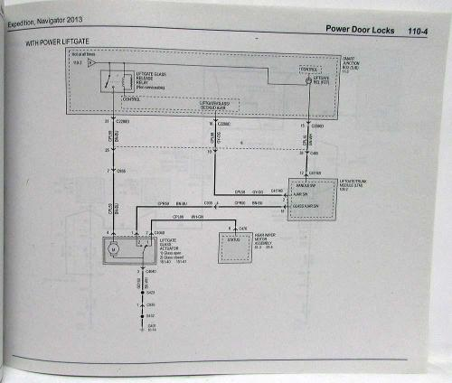 small resolution of 2013 ford expedition lincoln navigator electrical wiring diagrams manual