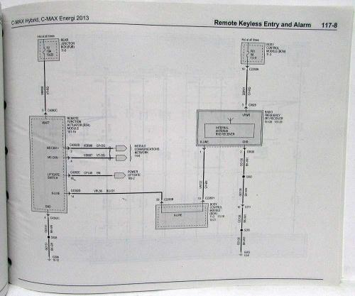 small resolution of 2013 ford c max hybrid energi electric electrical wiring diagrams manualc max wiring diagram 8