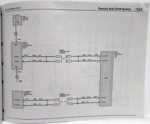 2013 Ford Focus Electric Electrical Wiring Diagrams Manual