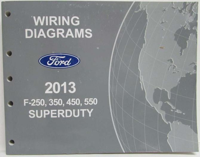 2013 ford f250 350 450 550 super duty pickup electrical