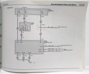 2013 Ford Taurus Interceptor Electrical Wiring Diagrams Manual