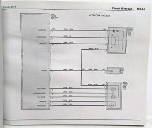 2013 Ford Escape Electrical Wiring Diagrams Manual