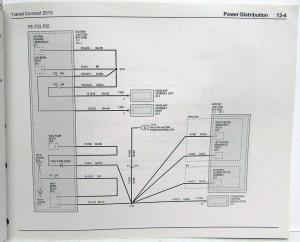 2013 Ford Transit Connect Electrical Wiring Diagrams Manual