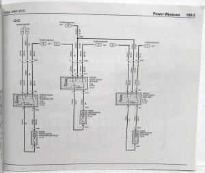 2013 Ford Edge and Lincoln MKX Electrical Wiring Diagrams Manual