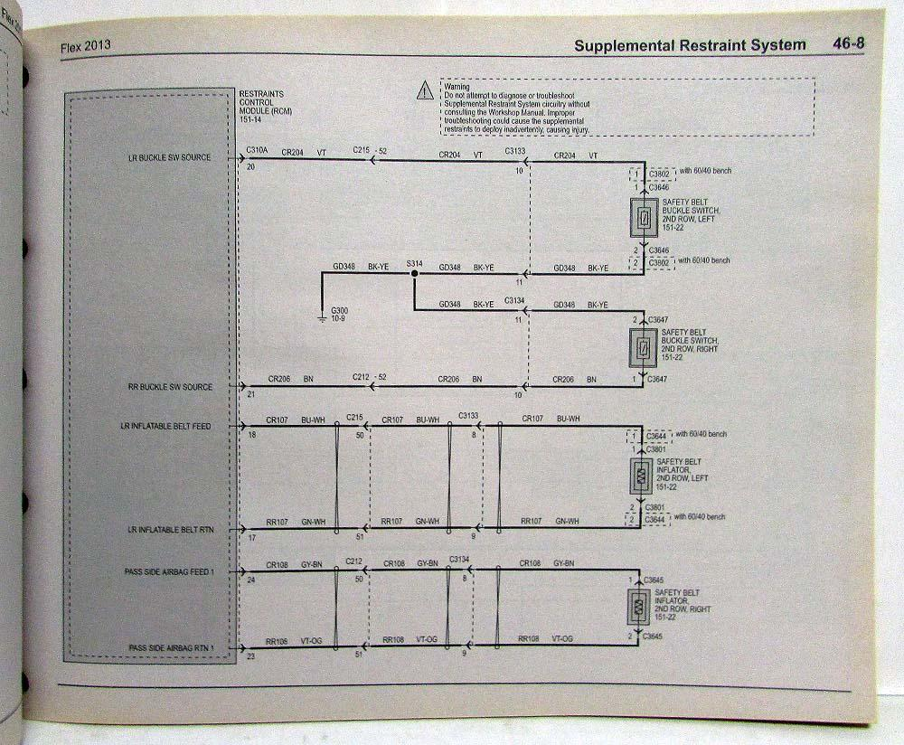 hight resolution of 2013 ford flex wiring diagram