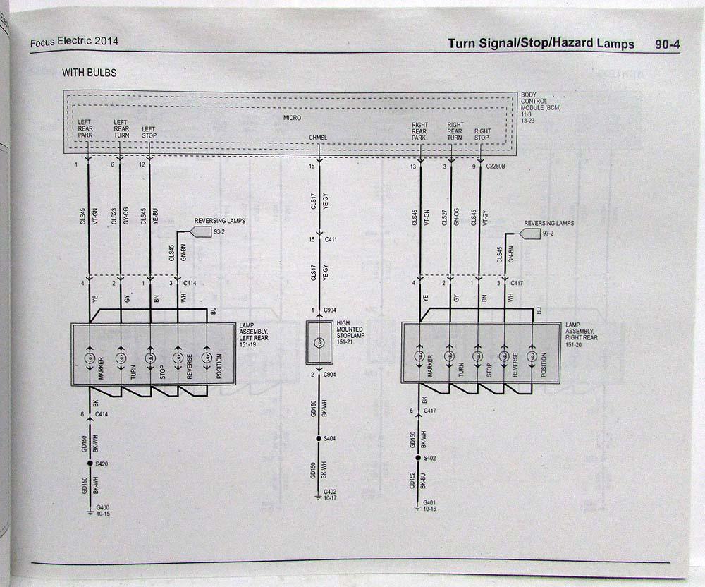 medium resolution of 2014 ford focu wiring diagram