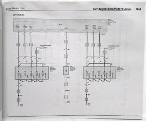 2014 Ford Focus Electric Electrical Wiring Diagrams Manual