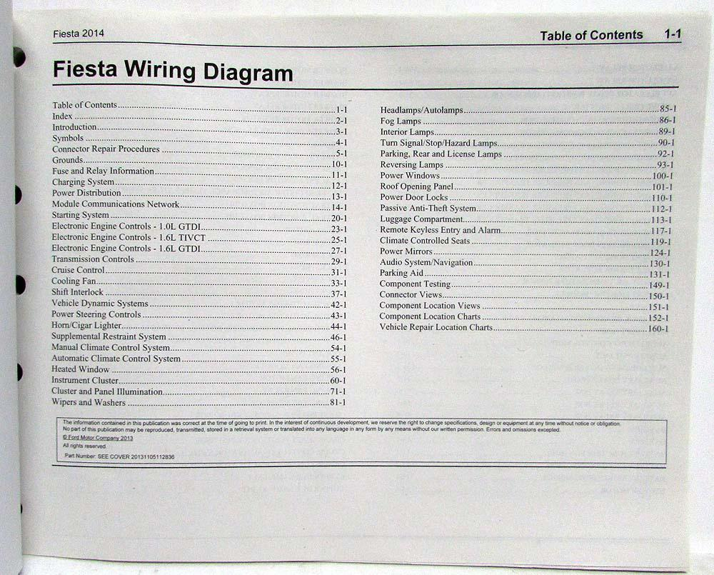 wiring diagram for ford fiesta electrical diagrams cars 2014 manual