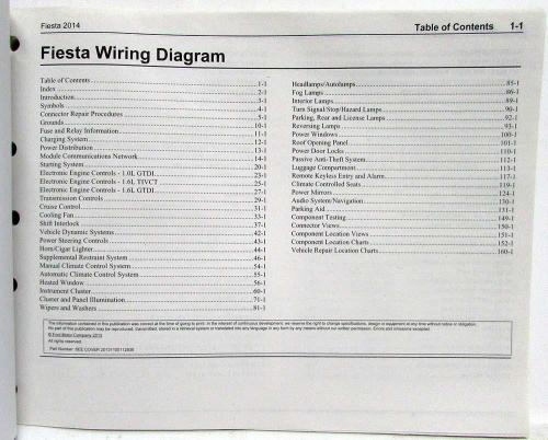 small resolution of 2014 ford fiesta electrical wiring diagrams manual 2014 ford fiesta wiring diagram