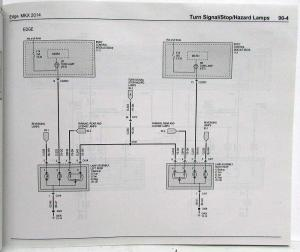 2014 Ford Edge and Lincoln MKX Electrical Wiring Diagrams Manual